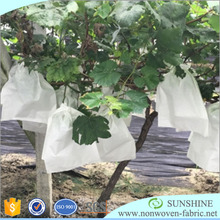 Biodegradable Spunbond Nonwoven Fabric Fruit Protection Bag For Dust-Proof And Pest Control