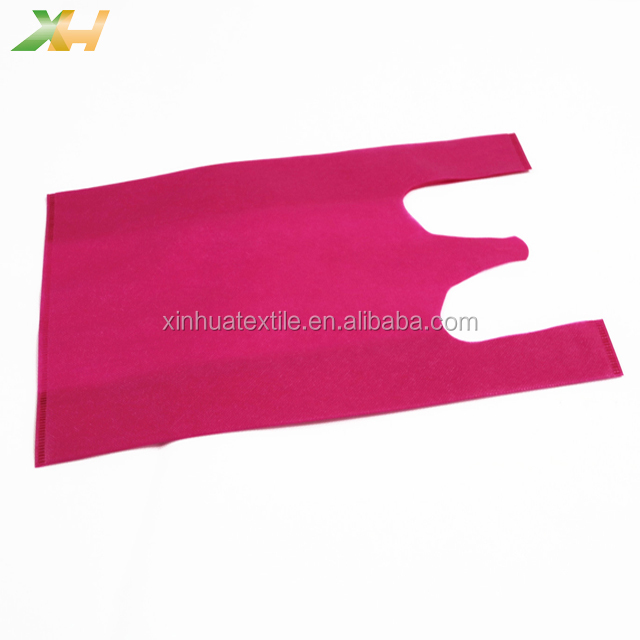 Eco-friendly Colorful PP Spunbond Nonwoven Vest Bag