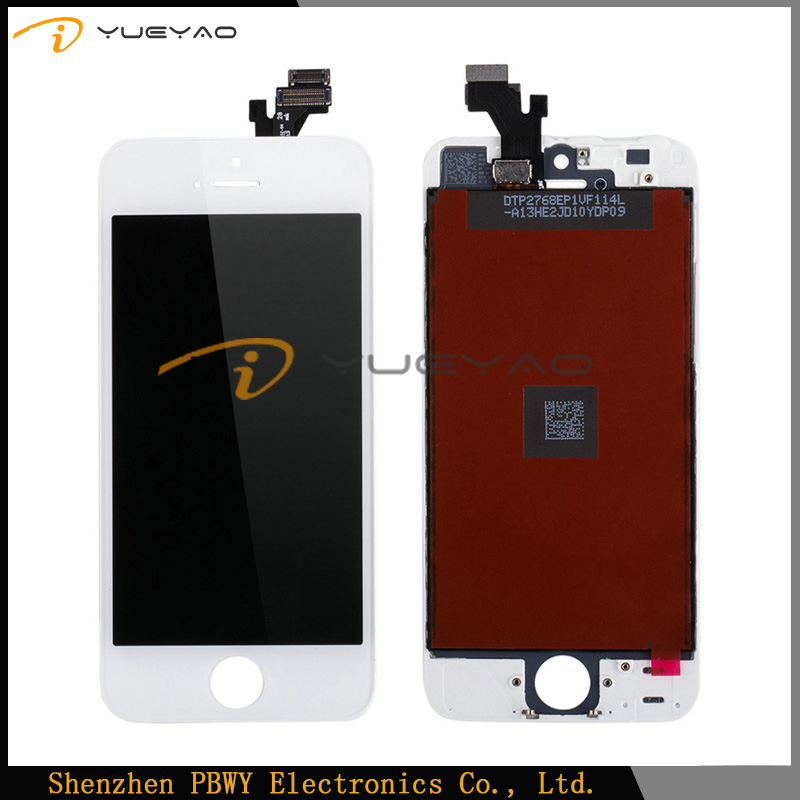China Manfacturers Cell Mobile Phone Spare Parts,Mobile Phone Screen For iPhone 5 LCD Display