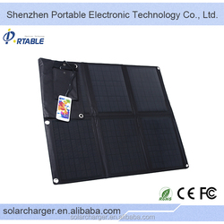 High Quality thin film 60W portable waterproof high quality solar panel