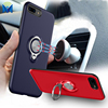 Factory Supplier Slim Armor Mobile Case with Ring Car Holder for iPhone 8 X 7 Plus