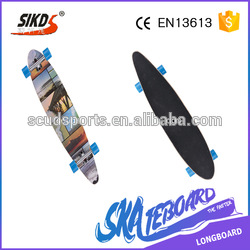 wholesale kinds of blank cruiser deck dye color OEM size graphics deck cruiser