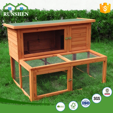 Outdoor Garden Furniture Wooden Rabbit Hutch Design With Run Cages