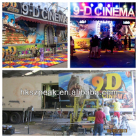 hot-sale products truck mobile cinema 9d cine and 9d cine simulator x movies