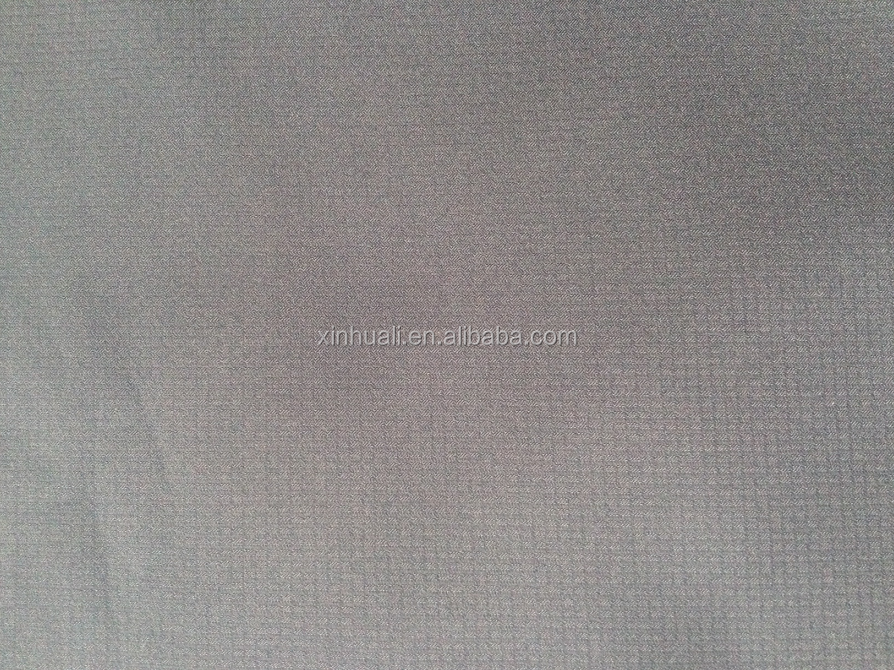 Rip-stop Softshell Fabric/Four-way stretch bonded polar fleece with TPU membrane