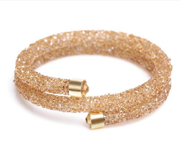 2017 New Arrival Adjustable Gold Bangle Models