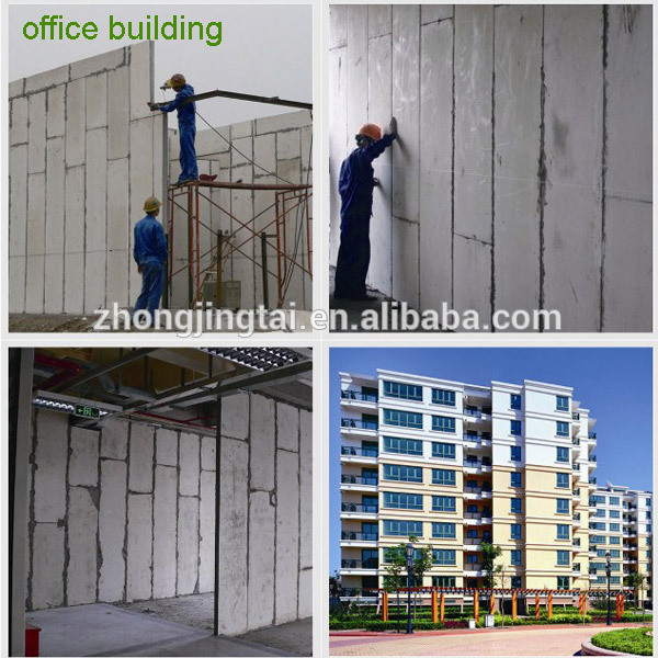 EPS cement sandwich insulated interior wall panels fiber cement board
