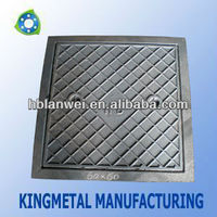 Cast iron manhole cover en124 d400 price made in China