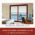 YiFa brand high quality aluminum sliding glass doors with built in internal blinds inside between glass