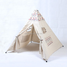 Wholesale Small Canvas Indoor Children Play Luxury Camping Tent For Sale