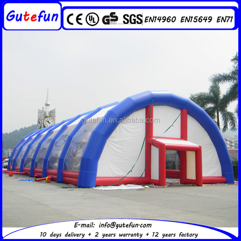 windproof large storage tent colorful inflatable fireproof tent for events cheap party tent