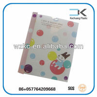 Favorable !! High Quality Transparent Removable Children Soft Book Cover