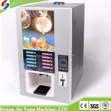 Selling well hot and cold coffee machine vending