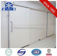 The convenient deep freezer sliding cold room door for cold room building
