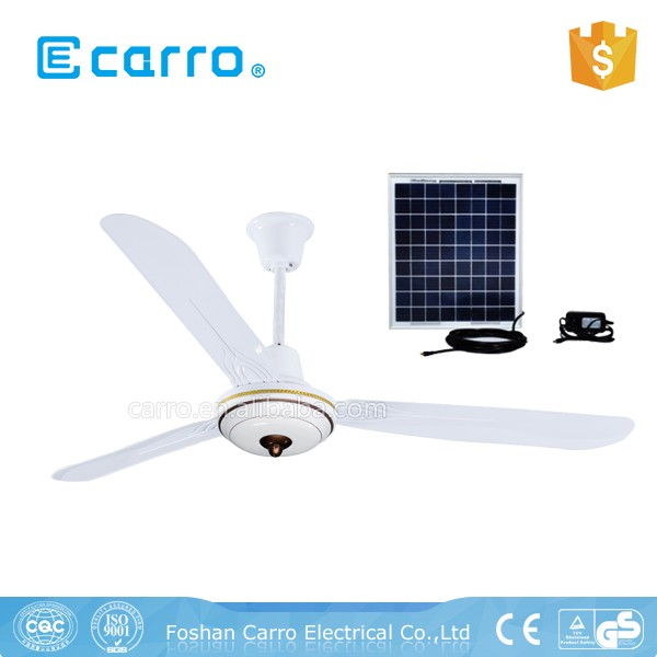 CARRO new design dc remote control 12v ceiling fan