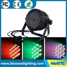 54*3w stage light 54x3 rgbw ip65 waterproof 54x3w par 64 led par can