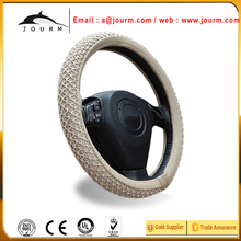 JOURM DIY car steering wheel cover for ford everest 2016