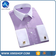 China Factory Formal Design Mens Collarless Button Down Shirts