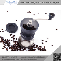 home coffee grinding machine and manual mini coffee maker
