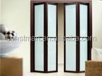 high quality assembly accessories aluminium gemel frame sliding glass window