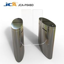 RFID 304 stainless steel full automatic waist height sliding gate/ Security barriers and gates supplier