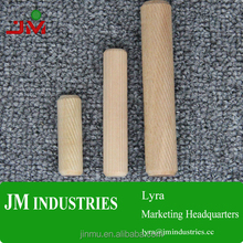 Wood dowel pins furniture parts hardwood connector