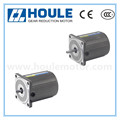 HOULE 6W high quality induction gear reduction motor with round shaft and gear shaft