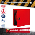 2016 new red metal fire equipment fire hose reel cabinet/fire fighting equipment