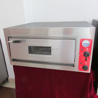 Commercial Baking Equipment One Layer Electric Pizza Oven/Pizza Making Machine With Pizza Stone OT-661-B