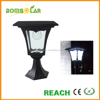 Super Bright LEDs Solar Powered Fence Gate Lamp Post Light