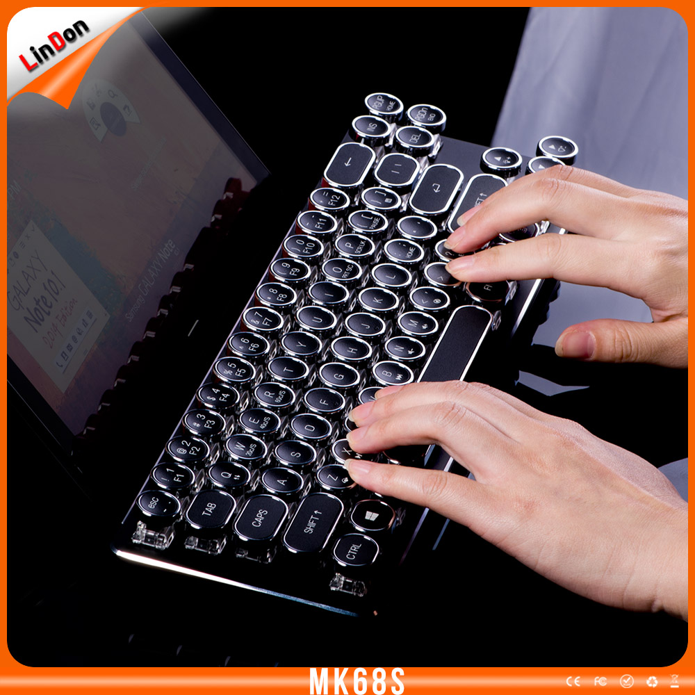 2016 Professional Universal Mechanical Backlight Wired Game Keyboard