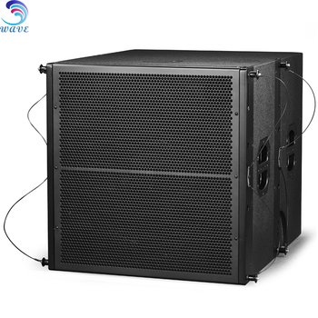 "Audio 700W Single 18"" Bass Professional Theater Hall Speaker"
