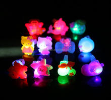 New party items light up rings electronic Led flashing rings Promotion gifts