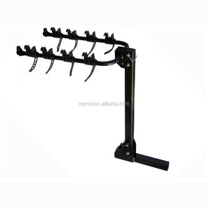 Heavy duty Steel Hitch mount bicycle carrier for 3 bikes