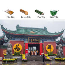 orient Chinese style ceramic roof tile for China traditional Palace and pogoda
