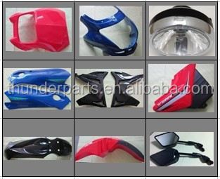 Motorcycle body parts,for YBR125,YBR125G,JOG50,JOG100,DT125,DT175
