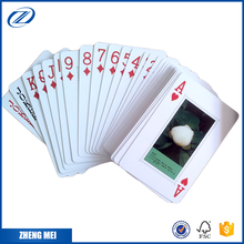 Printed Paper spades card game design advertising poker