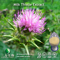 Silymarin Powder of Milk Thistle Extract for Herbal supplement