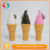 Wholesale price plastic ice cream shape summer bubble toys for children