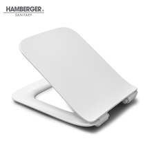 Standard Square Soft Close Hygienic Plastic Toilet Cover Seat