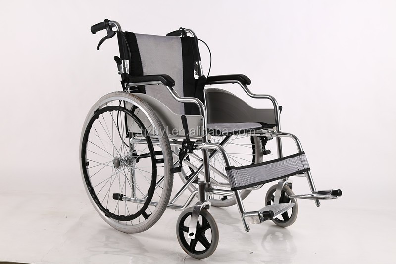 aluminum e power wheelchair