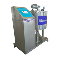 100L Mini Fresh Milk Sterilization Pasteurizer Machine for Sale Price