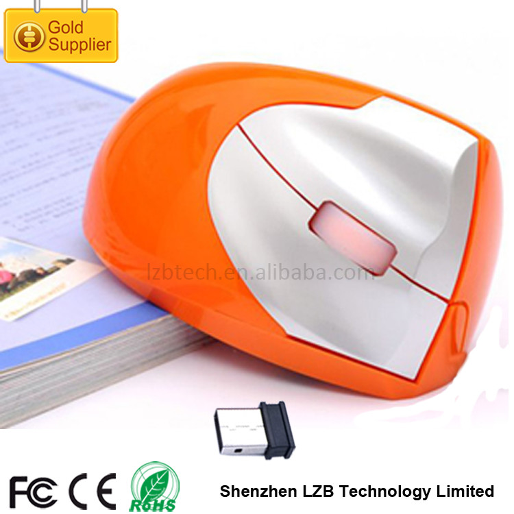 Best Selling WM-06 Rechargeable 2.4ghz USB Wireless Optical Mouse Wireless Vertical Normal Size Computer Mouse