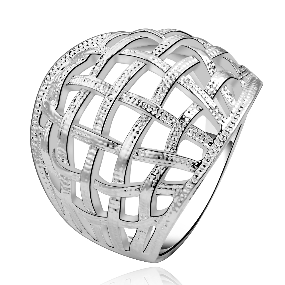 Buy 925 sterling silver Fashion Jewelry For Women wide around cross mesh  ring crystal stone wedding ring Finger Rings Wholesale in Cheap Price on  m.alibaba. ... a183361a9
