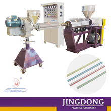 colorful hard plastic drinking straw production machinery