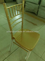wholesale wedding stacking cheap tiffany aluminum welded chair