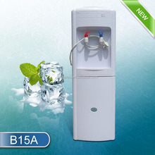 Compressor cooling water dispenser with refrigerator water cooler