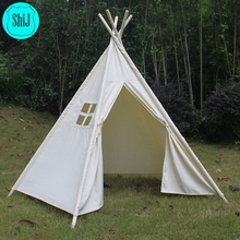 ShiJ-Online Wholesale Drop Shipping To US 5-WALLS INDIAN CHILDREN TEEPEE TENT