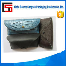 New fashional soft sunglasses case, colorful PU leather eyewear pouch, case for glasses