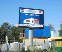 full color p10 led advertising outdoor Optoelectronic Displays screen with best price